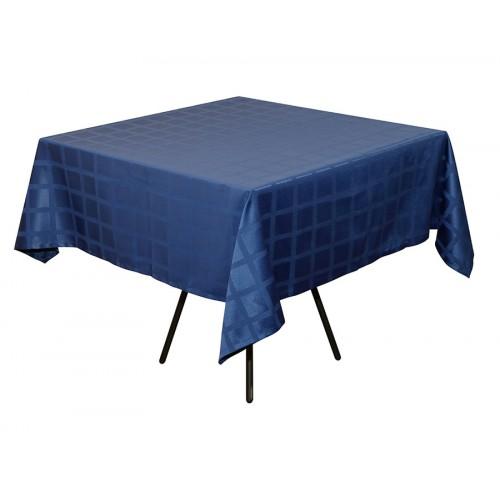 Скатерть 145х145 см «Журавинка» синяя (квадрат)