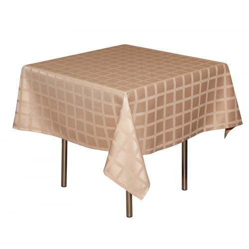 Скатерть 145х145 см «Журавинка» кофе с молоком (квадрат)