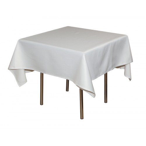 Скатерть 145х195 см «Журавинка» белая (гладь)