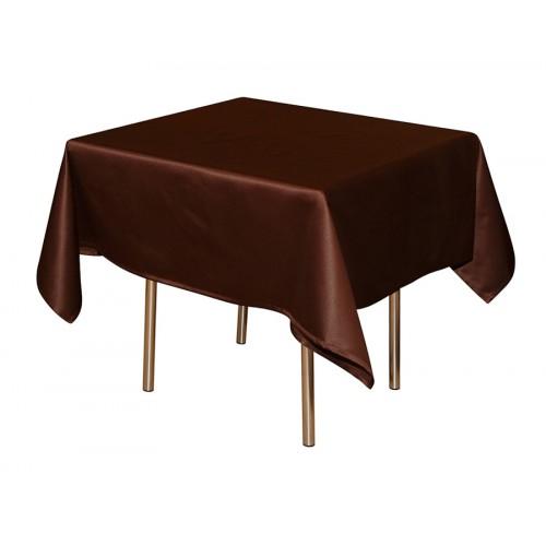 Скатерть 145х195 см «Журавинка» коричневая (гладь)