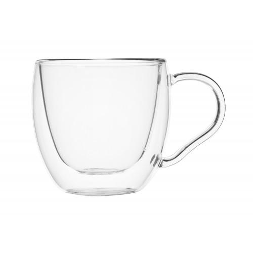 Чашка для чая-кофе 100 мл с двойными стенками