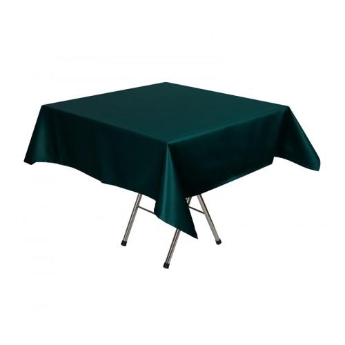Скатерть 145х195 см «Журавинка» темно-зеленая (гладь)