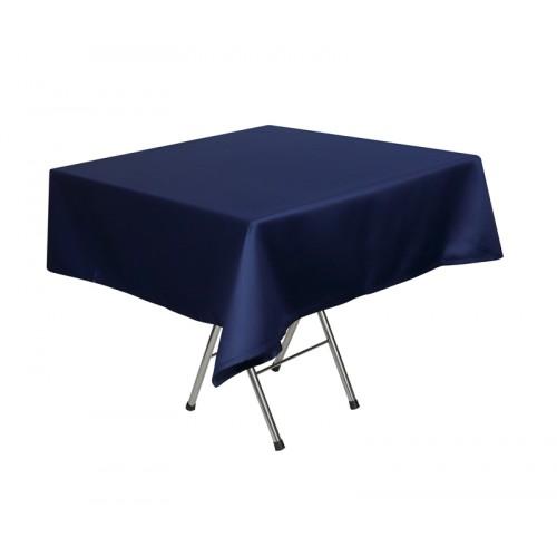 Скатерть 145х195 см «Журавинка» синяя (гладь)