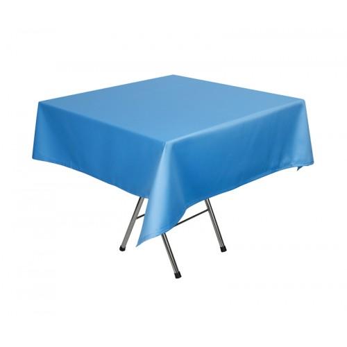 Скатерть 145х195 см «Журавинка» голубая (гладь)