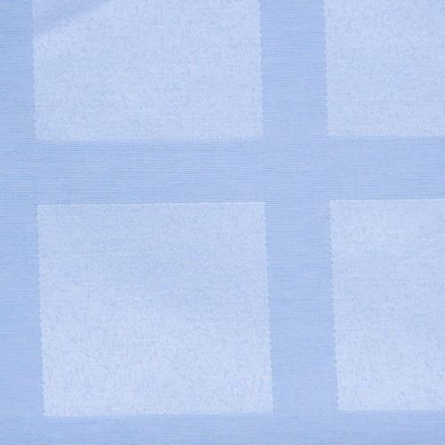 Скатерть 145х195 см «Журавинка» голубая (квадрат)