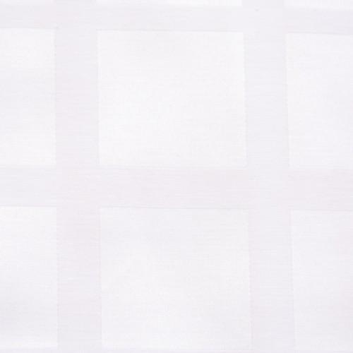 Скатерть 145х145 см «Журавинка» белая (квадрат)