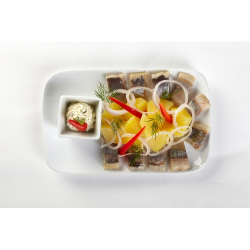 Блюдо прямоугольное «Collage» 230х150 мм