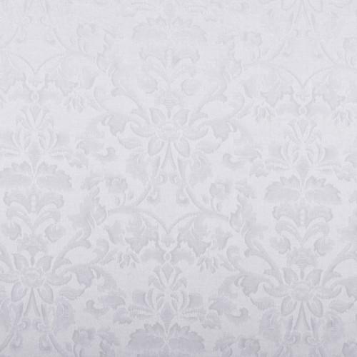 Скатерть 145х145 см «Журавинка» белая (цветок)