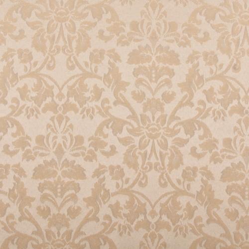 Скатерть 145х145 см «Журавинка» бежевая (цветок)