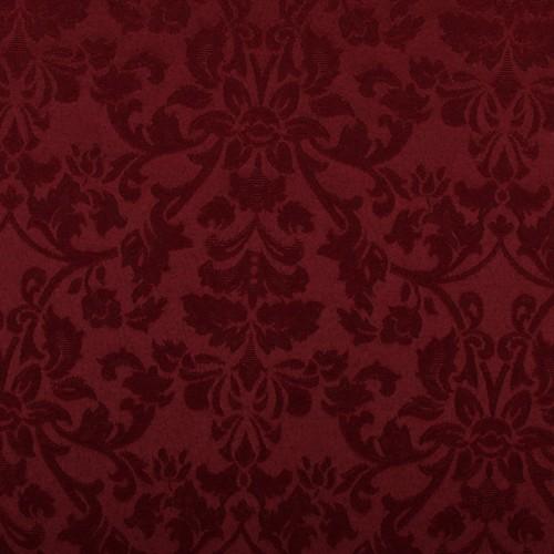 Скатерть 145х145 см «Журавинка» бордо (цветок)