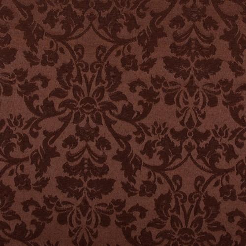 Скатерть 145х195 см «Журавинка» коричневая (цветок)