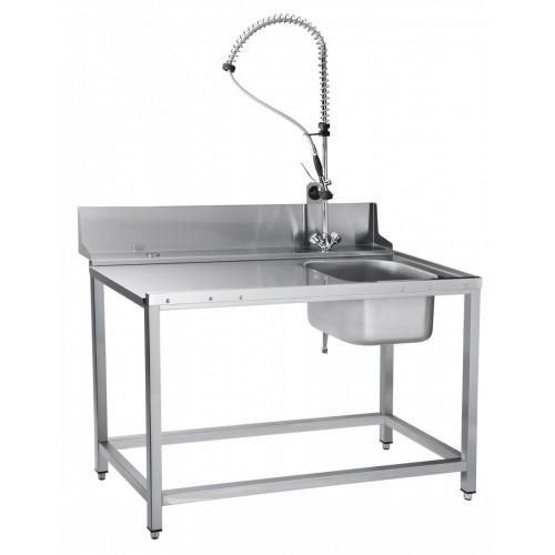 Стол предмоечный Abat СПМП-7-4 с душем