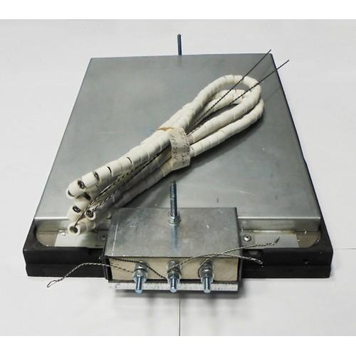 4 КОНФОРКА КЭС-0,12 / 3 кВт  /417*290 / ПЭ -0,48 ШП  выход с боку спиральная