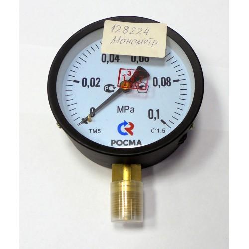 4 МАНОМЕТР ТМ-510Р.00 (0-1 кг/см2) М20 х 1,5  1,5  100 мм