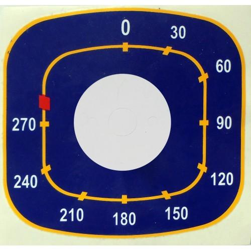 4 Наклейка ЭПК48 (Плиты Abat) Под терморегулятор  50-270*
