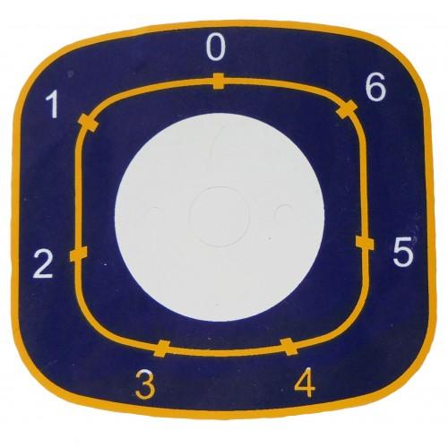 4 Наклейка ЭПК-48-00.00.00.04 под переключать  7-ми позиционный.