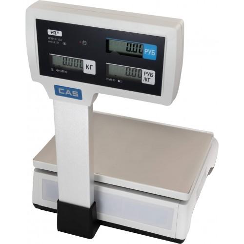 Электронные торговые весы CAS ER JR-CBU