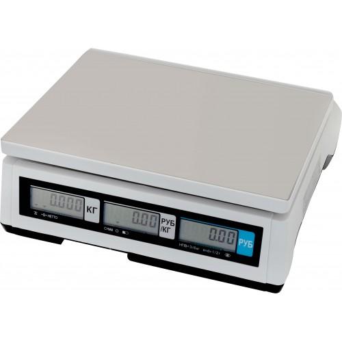 Электронные торговые весы CAS ER JR-CB
