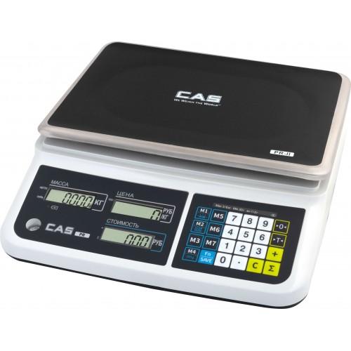 Электронные торговые весы CAS PR-II-В