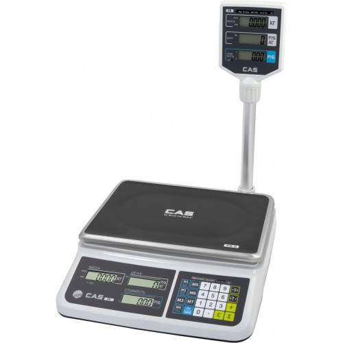 Электронные торговые весы CAS PR-II-P