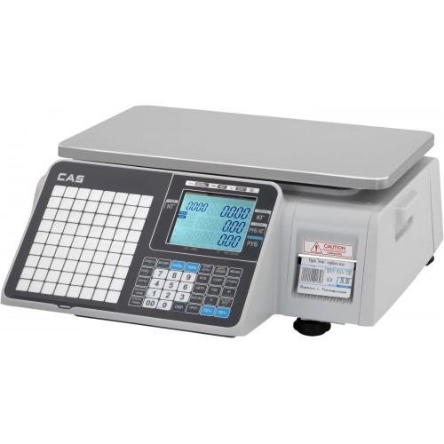 Весы с печатью этикеток CAS CL-3000J-B