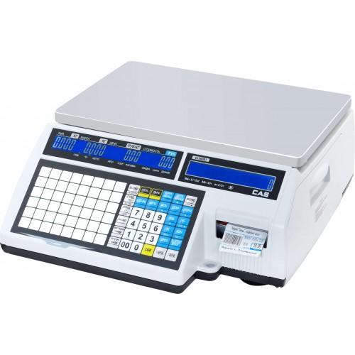 Весы с печатью этикеток CAS CL-5000J-IB