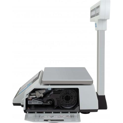 Весы с печатью этикеток CAS CL-5000J-IP