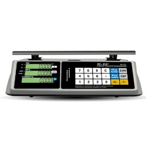 Электронные торговые весы Mercury M-ER 328 AC Touch-M
