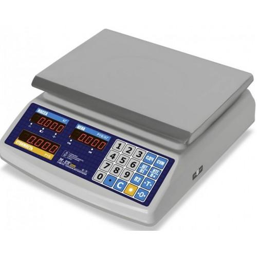 """Электронные торговые весы M-ER 329 AC IP67 """"Fisher"""" LED"""